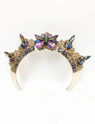 Rainbow Iridescent Band Crown