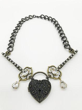 Lock/Key Necklace 2548