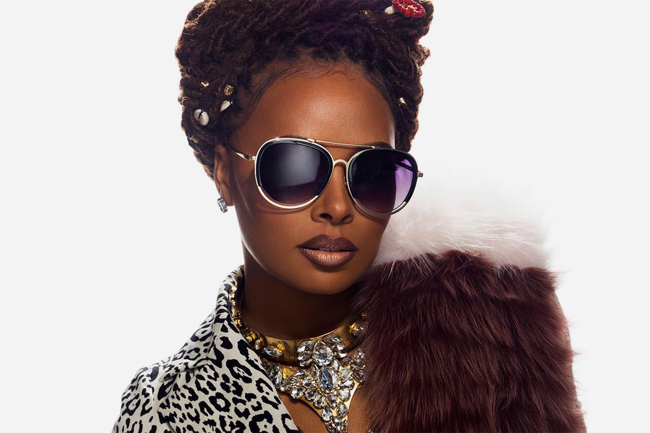 Eva Marcille Eyewear Campaign