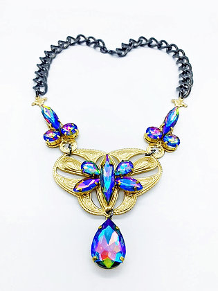 Iridescent Rainbow Necklace
