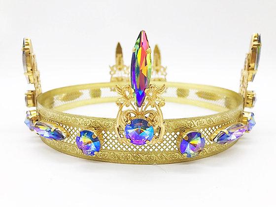 Rainbow Iridescent Crown