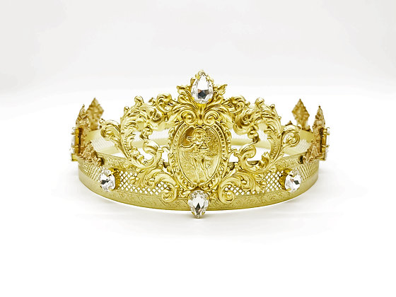 Gold Angel Crown