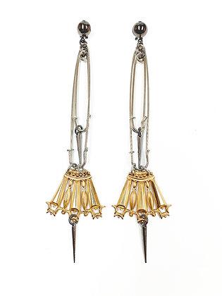 Shoulder Duster Crown Earrings