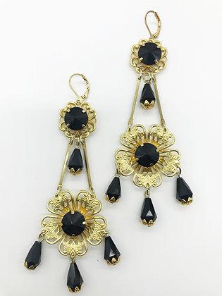 Long Chandelier Earrings 2707