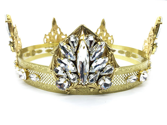 Clear Heart Band Crown