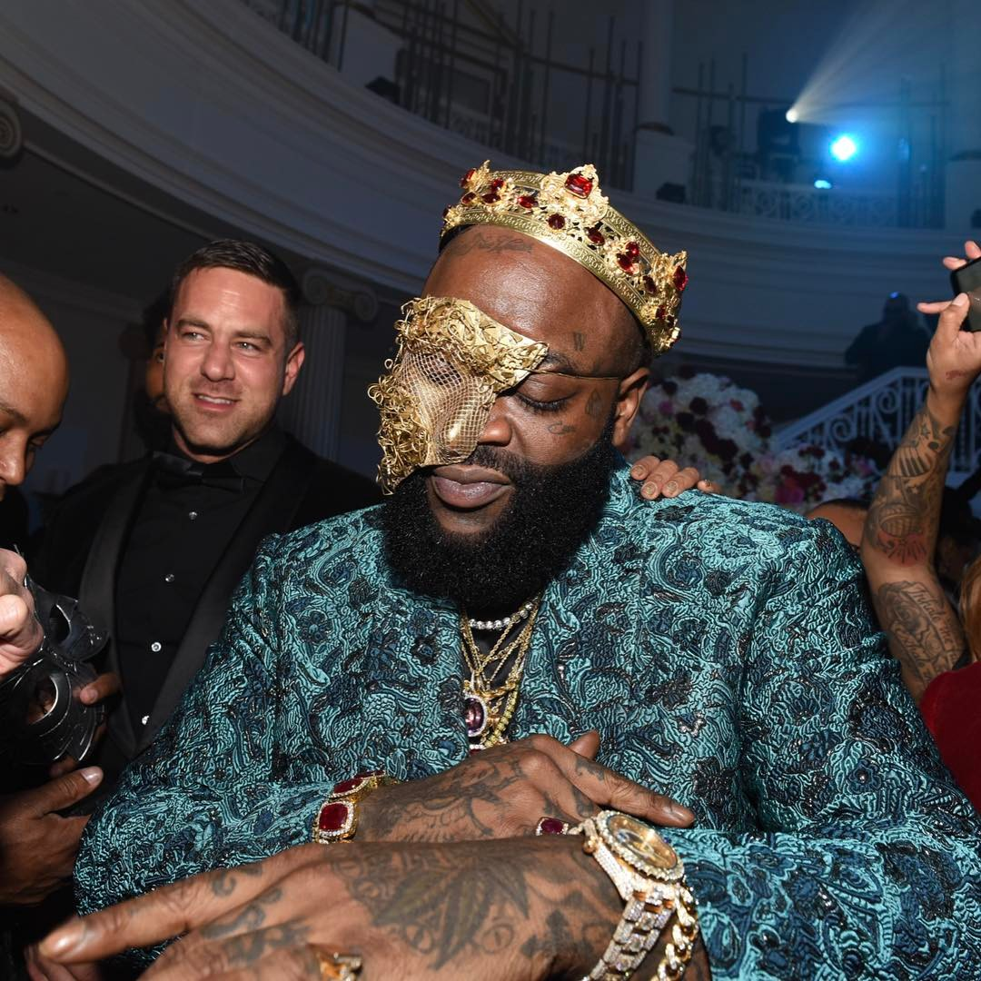 Rick Ross in a Vauje crown
