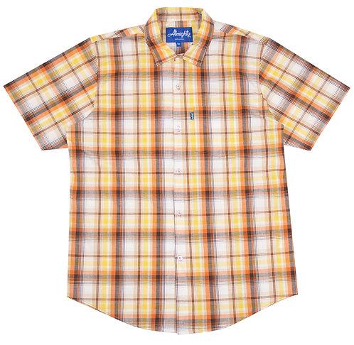 Lightweight Plaid S/S Shirt