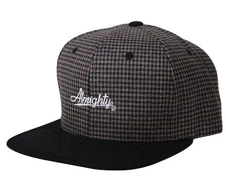 Plaid 5 Panel Hat