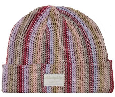 Striped Knit Beanie