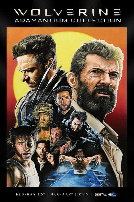 Wolverine BluRay Cover