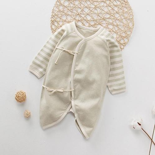 Mameluco Para Recien Nacido Algodon Organico Bebe Babynova