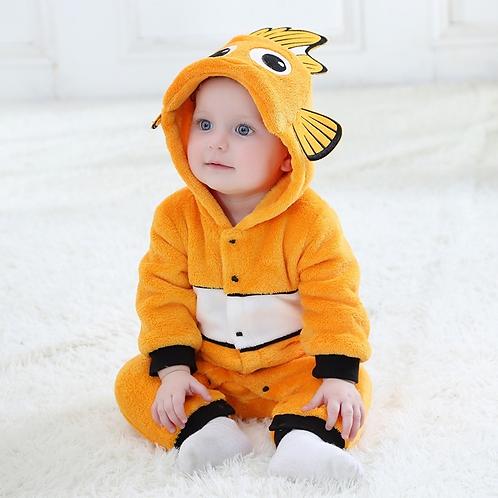 Kigurumi Para Bebe Nemo Pijama Mameluco Babynova Cl
