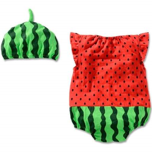 Disfraz Pañalero Sandia Para Bebe De Sandia P8