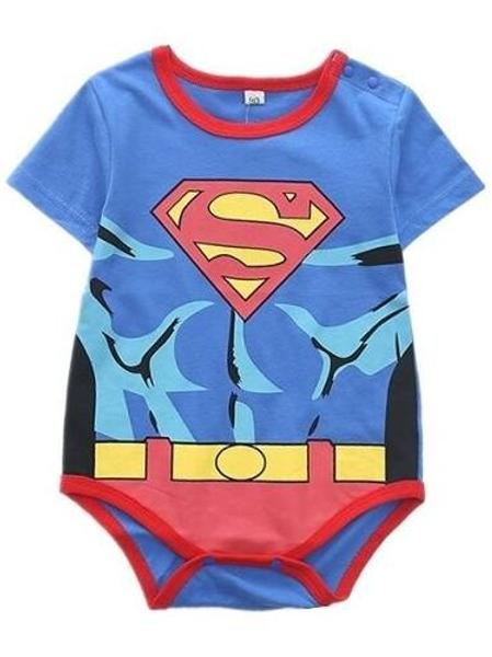 Pañalero Superman Bebe Superheroes Unisex Babynova