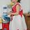 Thumbnail: Vestido Mimi Niña Elegante Primavera Verano Minie Rojo