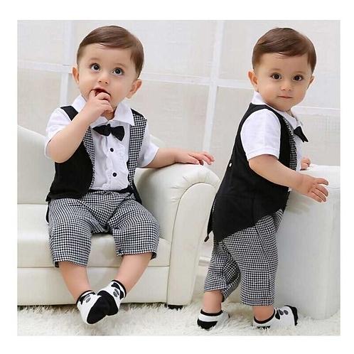Traje Para Bebe Chaque Para Fiestas Elegante Babynova T18 :)