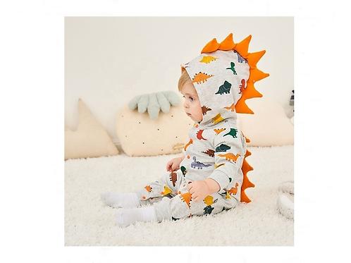 Mameluco De Dinosaurio Para Bebe Pijama Para Bebe Sudadera