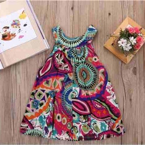 Vestido Vintage Para Bebe Primavera/ Verano Babynova :)