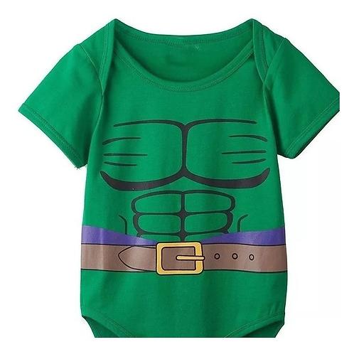 Pañalero Hulk Bebe Superheroes Unisex Babynova