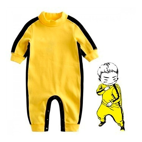 Mameluco Para Bebe Bruce Lee Disfraz Para Bebe Babynova P9
