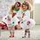 Thumbnail: Traje Navideño Para Niñas Leggings Tutu Babynova :)n-4cl