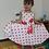 Thumbnail: Vestido Elegante Para Fiestas Niña Puntitos Primavera Verano