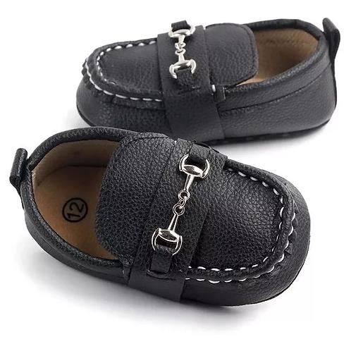 Mocasines Para Bebe De Piel Zapato Para Bebe Suela Blanda