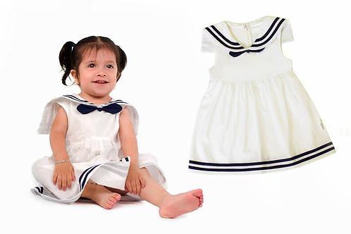 Vestido Niña Marinero Para Bebé Niña Babynova