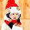 Thumbnail: Gorro Para Bebé Con Bufanda Calientitos Babynova Z2 Cl