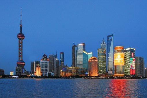 Chine Shanghai sky line.jpg