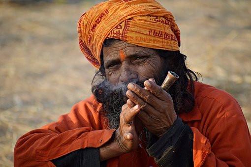 Inde homme jouant flute.jpg