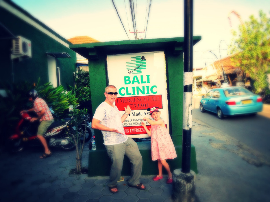 Nobody Wants to get sick in Bali!