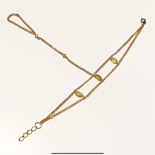 Moss Hand Chain
