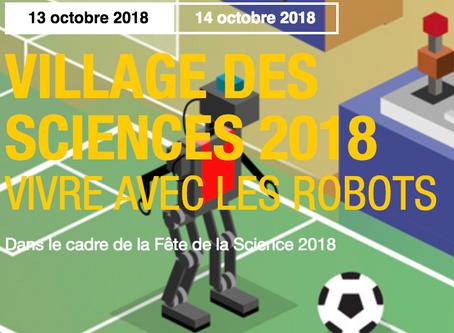 RoboCup au Village des Sciences à Cap Science
