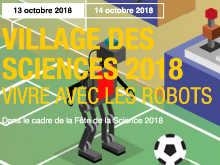 RoboCup au Village des Sciences à Cap Science