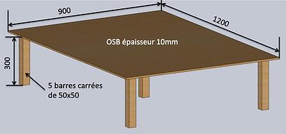 Grande table basse
