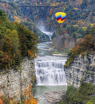 Letchworth Park Hot Air Balloon