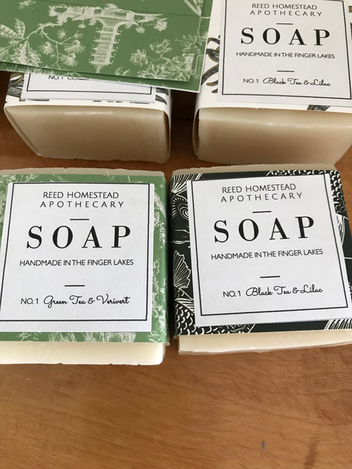 Reed Homestead Apothecary Soap
