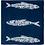 Thumbnail: Sardine Napkin Set of 4