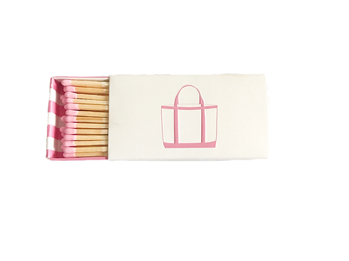 Match Box - Pink Tote & Stripes