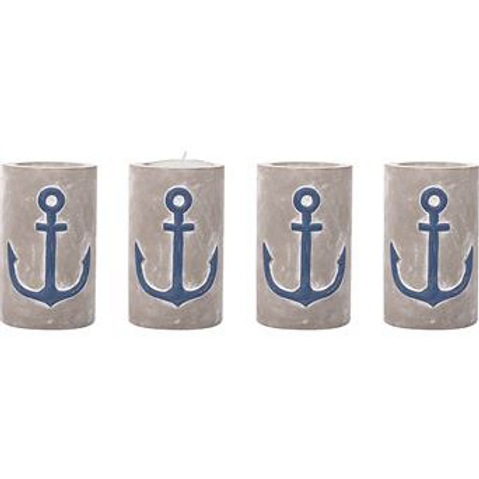 Anchor Concrete Votive Holder