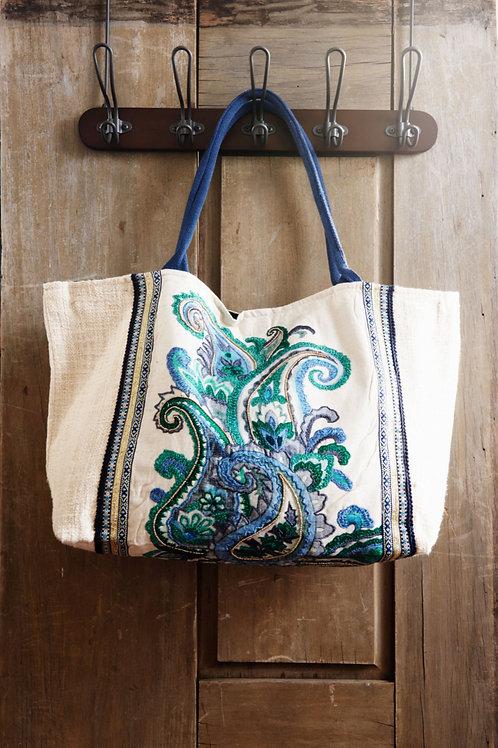 Chic Boho Bag - Lakeshore Blue