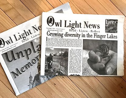 Owl Light Newspaper