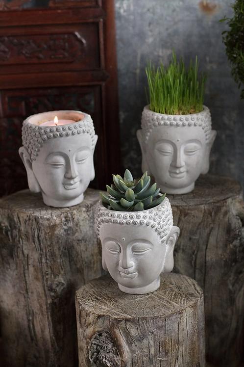 Whimsical Buddha Head