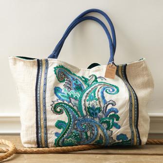 Embellished Carryall