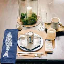 Hurricane Candles & Small Batch Tablestop Accents