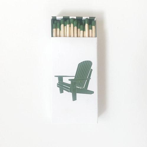 Adirondack Chair Matchbook