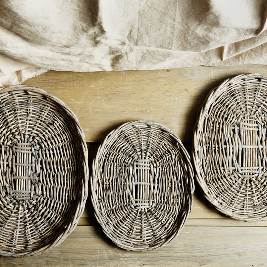 wicker trays