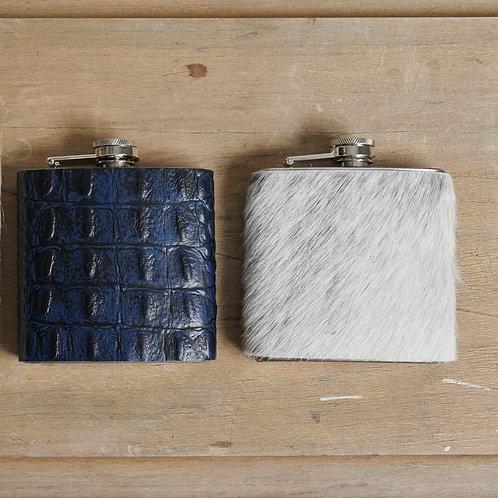 Leather & Hide Flask - 6 oz