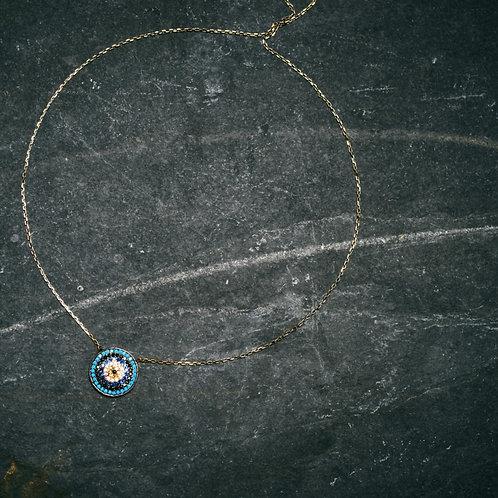 Blue Cirque Necklace